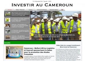 Partenaire Investir au cameroun