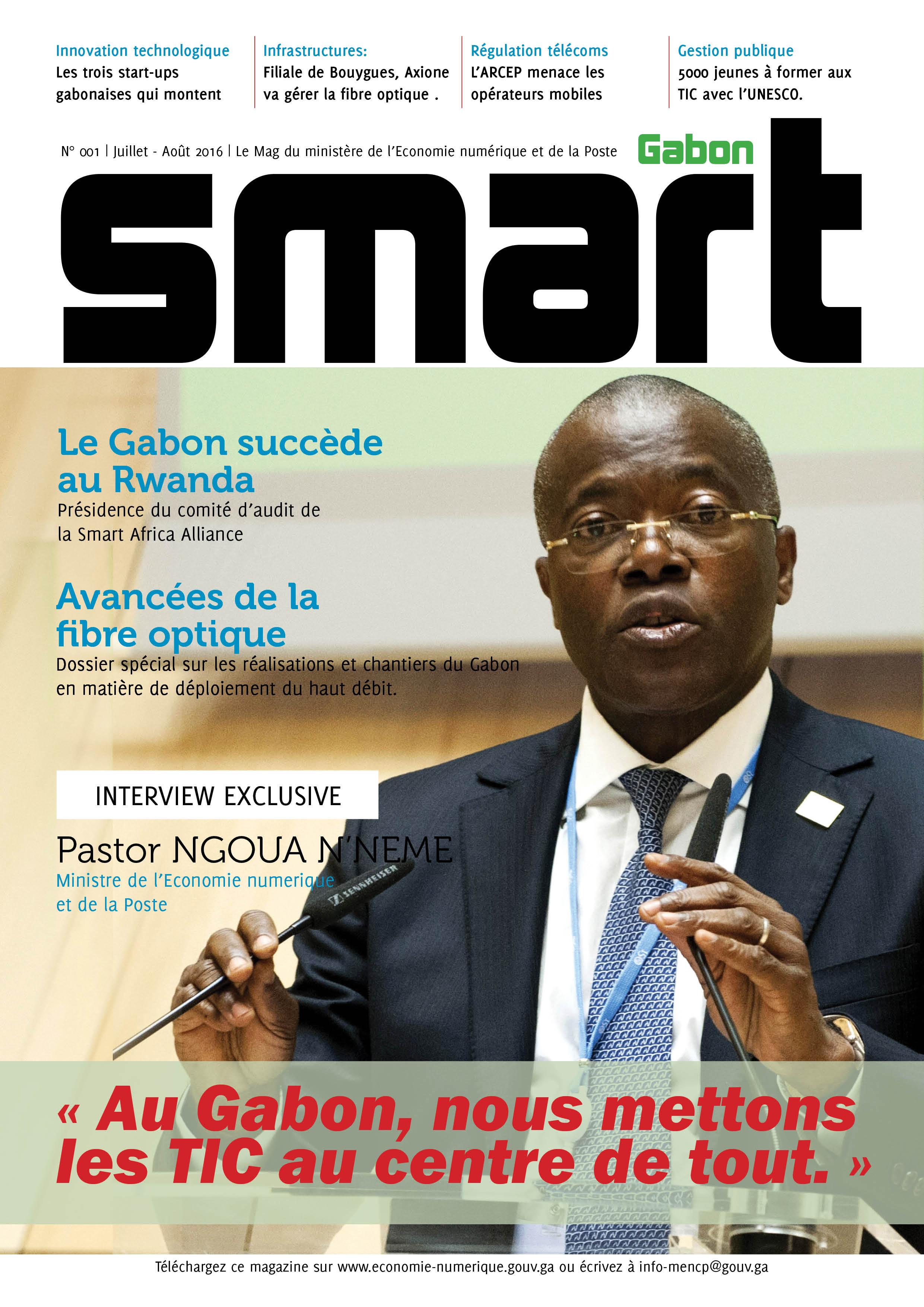 Smart Gabon Une