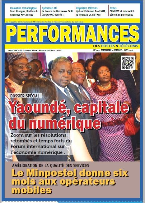 Le Mazanie Performance des Postes et Télécoms. Yaoundé, Capitale du numérique.
